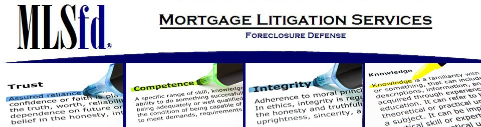 Mortgage Litigation Services - Foreclosure Defense ( New Jersey)